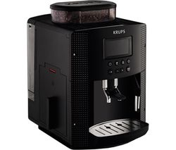 KRUPS Espresseria EA8150 Bean to Cup Coffee Machine - Black