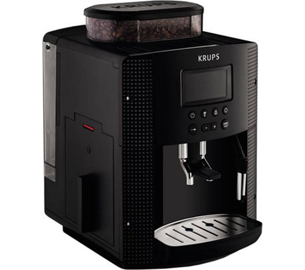 buy krups espresseria ea8150 bean to cup coffee machine black free delivery currys. Black Bedroom Furniture Sets. Home Design Ideas
