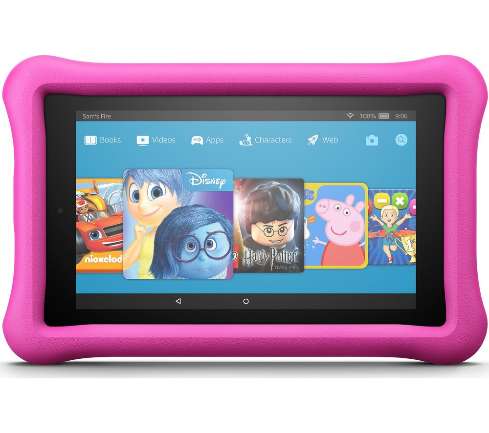 AMAZON Fire 7 Kids Edition Tablet (2017) - 16 GB, Pink
