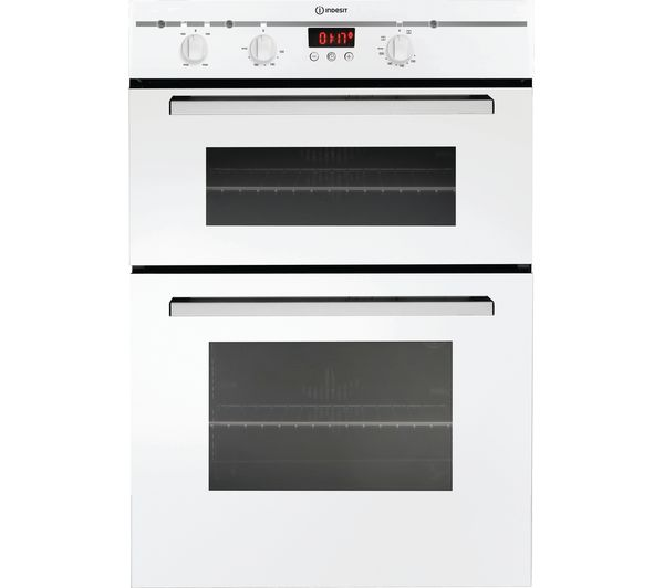 INDESIT FIMD23WH Electric Double Oven - White