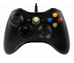 MICROSOFT Xbox 360 Controller for Windows – Black