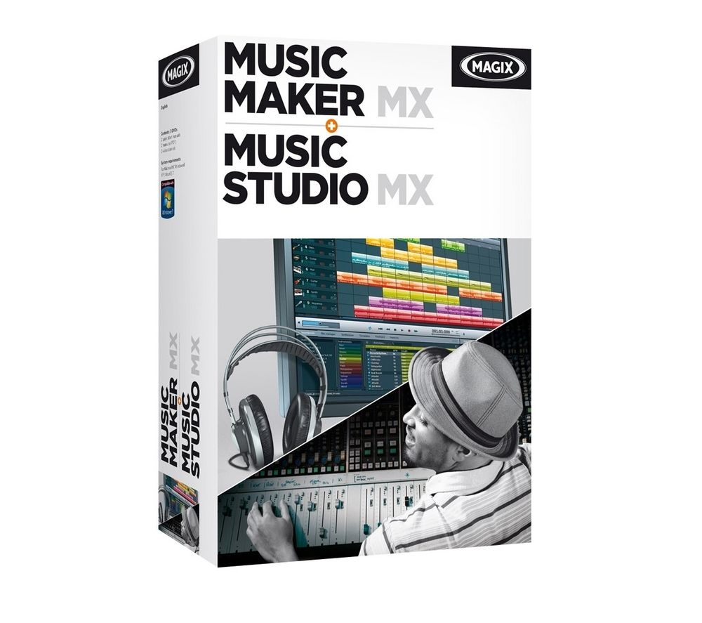 MAGIX Music Maker MX + Music Studio MX