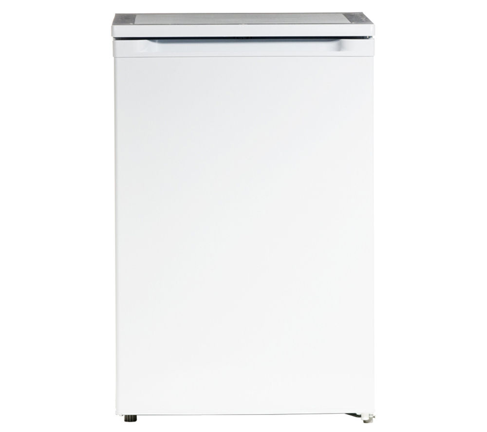 ESSENTIALS CUF55W12 Undercounter Freezer - White + CUR50W12 Undercounter Fridge - White
