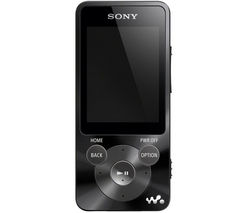 SONY NWZ-E585B 16 GB MP3 Player with FM Radio - Black