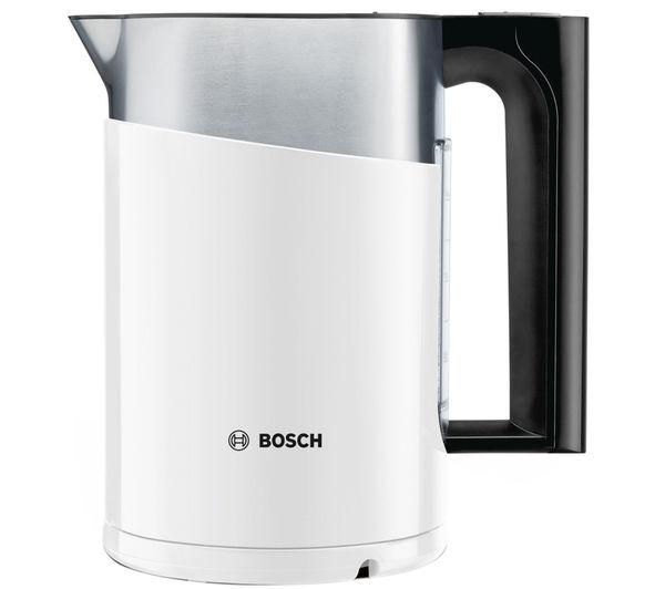 buy bosch styline sensor twk86101gb jug kettle white. Black Bedroom Furniture Sets. Home Design Ideas