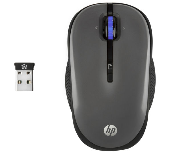 Image of HP X3300 Wireless Optical Mouse - Grey