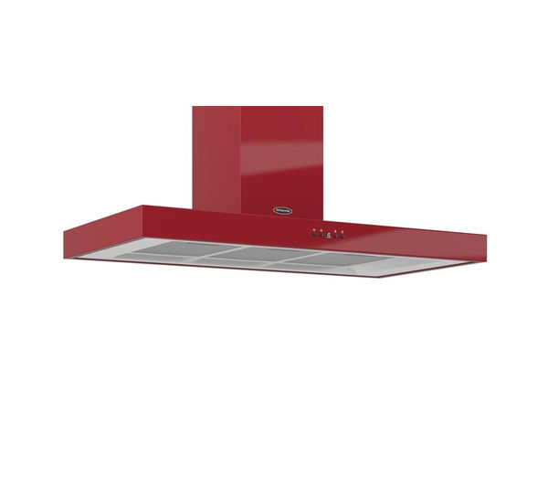 BRITANNIA  Arioso K7088A10R Chimney Cooker Hood  Gloss Red Red
