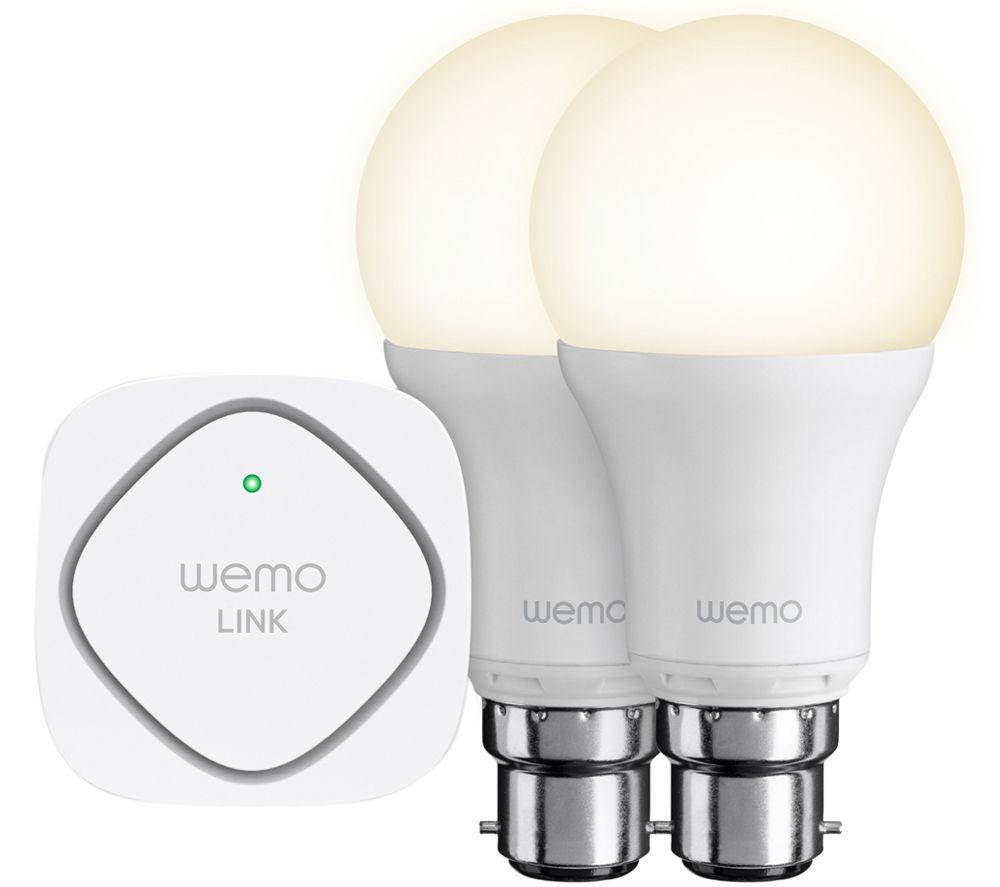 BELKIN F5Z0538UK WeMo WiFi LED Lighting Starter Set