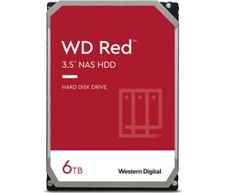 "WD Red 3.5"" Internal Network Hard Drive - 6 TB"