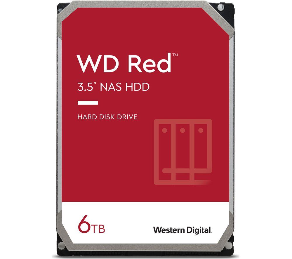 "WD Red 3.5"" Internal Network Hard Drive - 6 TB"