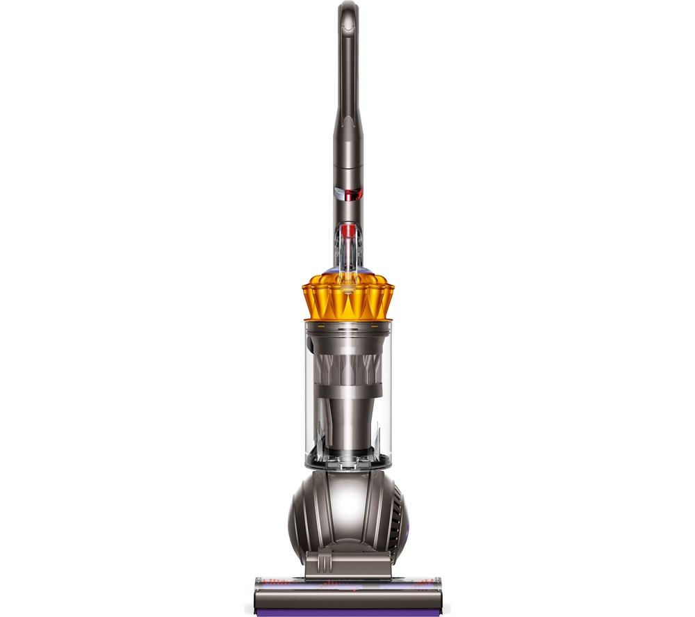 DYSON  DC41 Multifloor Upright Bagless Vacuum Cleaner - Yellow & Iron +  Clean and Tidy Kit