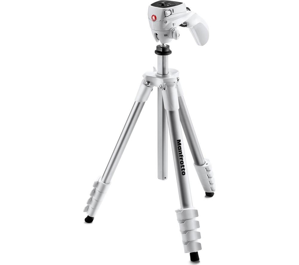 MANFROTTO Compact Action Tripod - White