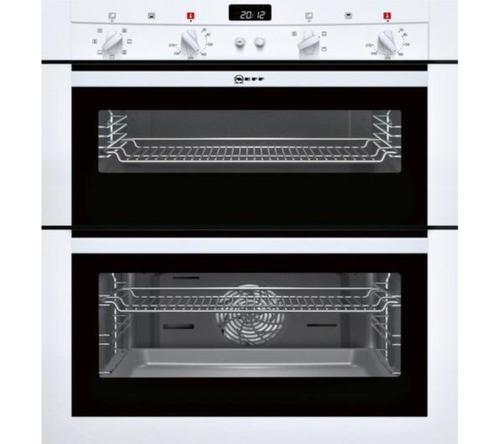 NEFF U17M42W3GB Electric Built-under Double Oven - White
