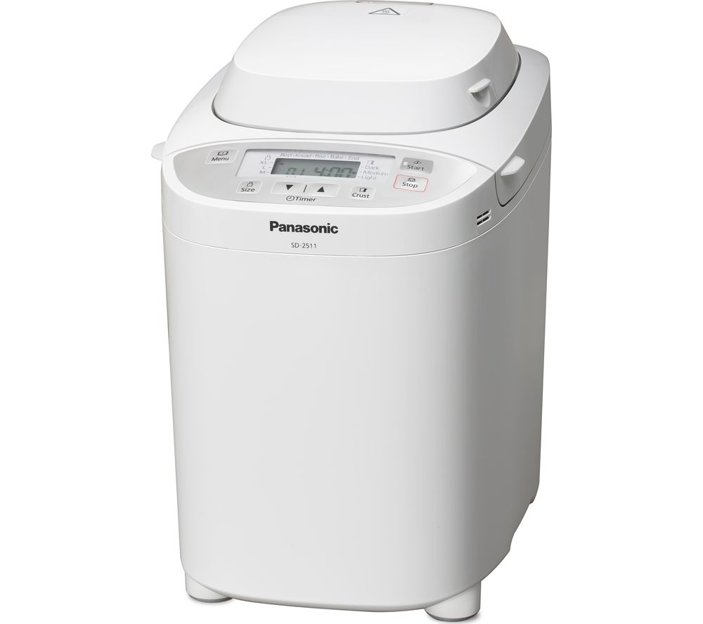 PANASONIC  SD-2511WXC Automatic Breadmaker – White, White