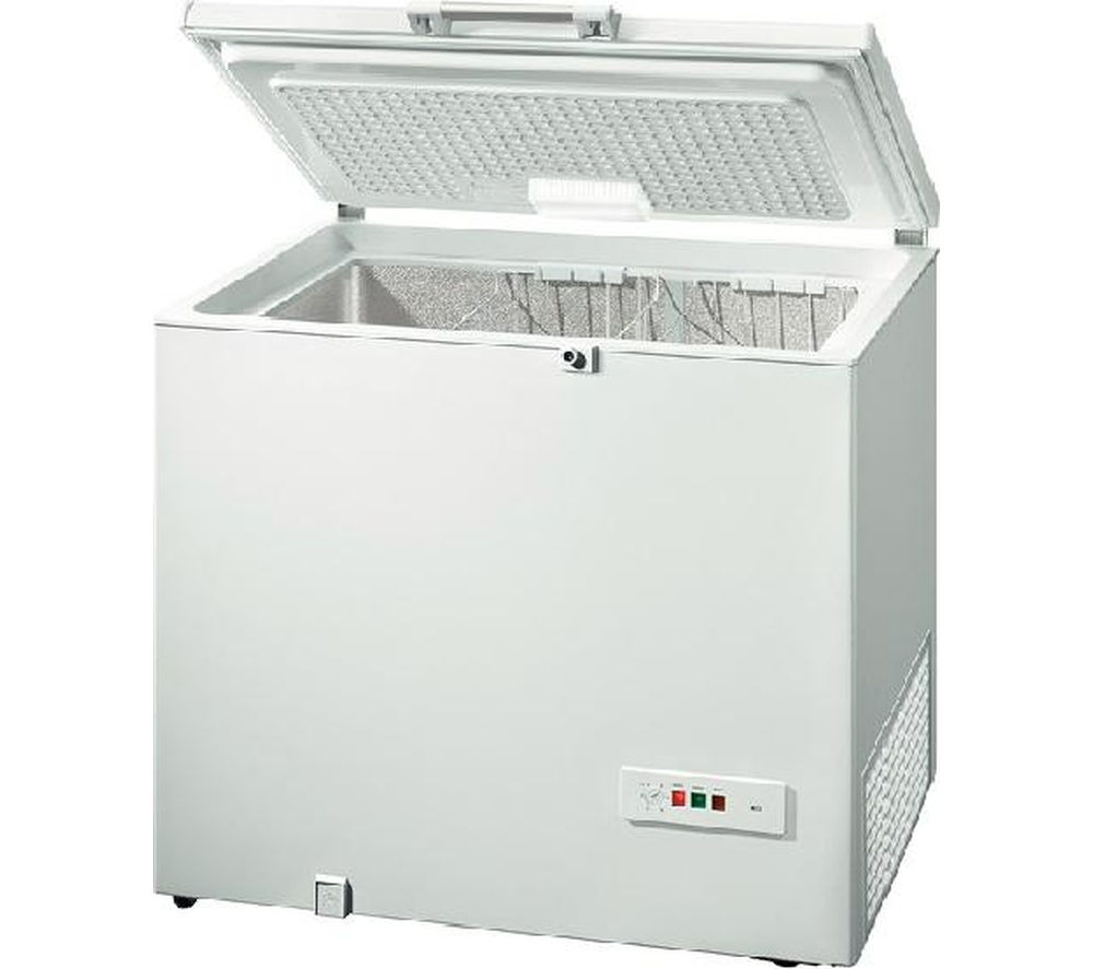 BOSCH GCM24AW20G Chest Freezer - White