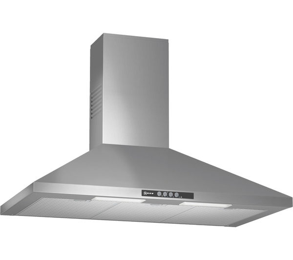 Neff D69B21N0GB Stainless Steel 900mm Chimney Hood