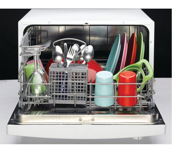 buy indesit icd661 compact dishwasher white free. Black Bedroom Furniture Sets. Home Design Ideas