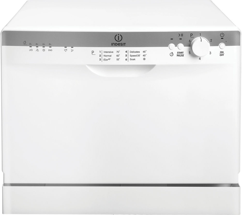 INDESIT ICD661 Compact Dishwasher - White
