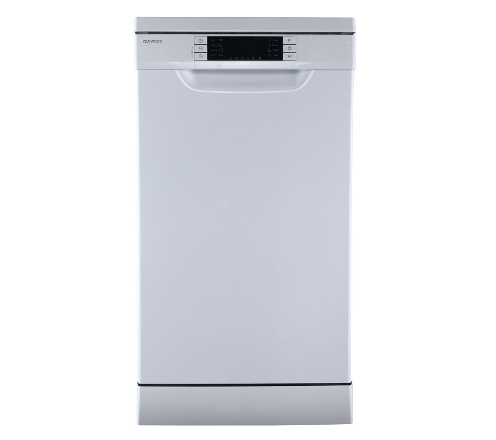 KENWOOD  KDW45W16 Slimline Dishwasher  White White