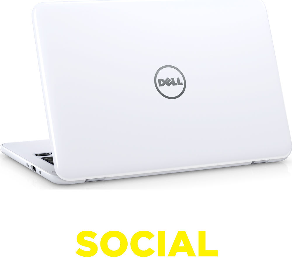 "Image of Dell Inspiron 11 3000 11.6"" Laptop - White"
