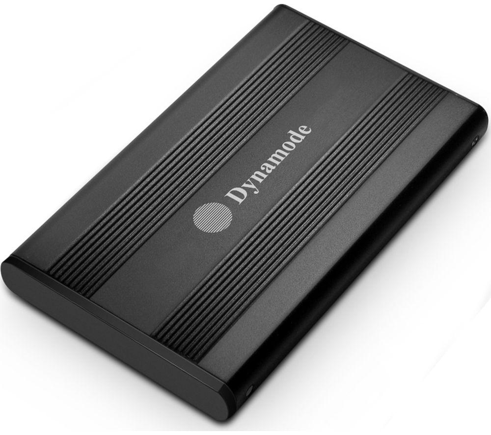 "DYNAMODE USB3-HD2.5S-BN USB 3.0 2.5"" SATA Hard Drive Enclosure - Black"