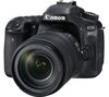 CANON EOS 80D DSLR Camera with 18-135 mm f/3.5-5.6 IS USM Zoom Lens - Black