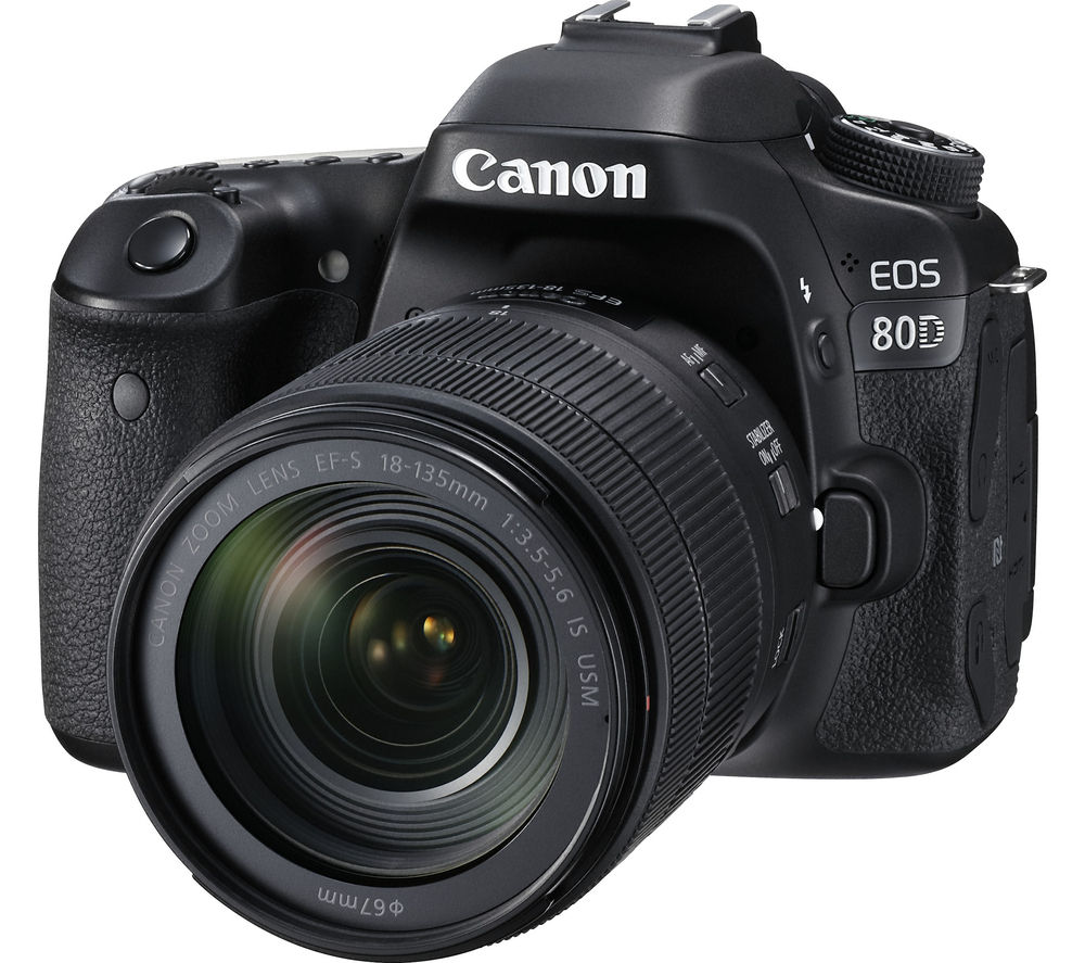 Camera Dslr Camera Price In Uk dslr cameras cheap deals currys canon eos 80d camera with 18 135 mm f3 5 6 is
