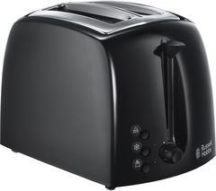 RUSSELL HOBBS Textures 21641 2-Slice Toaster - Black