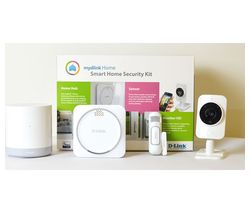 D-LINK mydlink DCH-107KT Smart Home Security Camera Kit