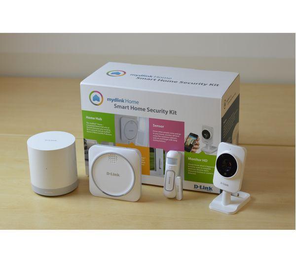 buy d link mydlink dch 107kt smart home security camera kit free delivery currys. Black Bedroom Furniture Sets. Home Design Ideas