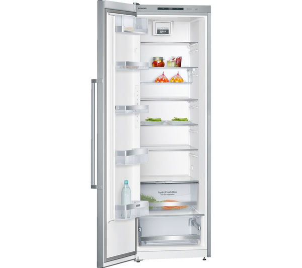 buy siemens iq500 ks36vai41g tall fridge stainless steel free delivery currys. Black Bedroom Furniture Sets. Home Design Ideas