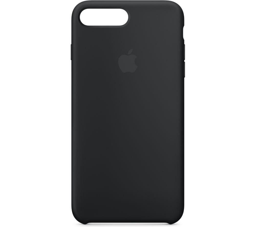 APPLE Silicone iPhone 7 Plus Case - Black