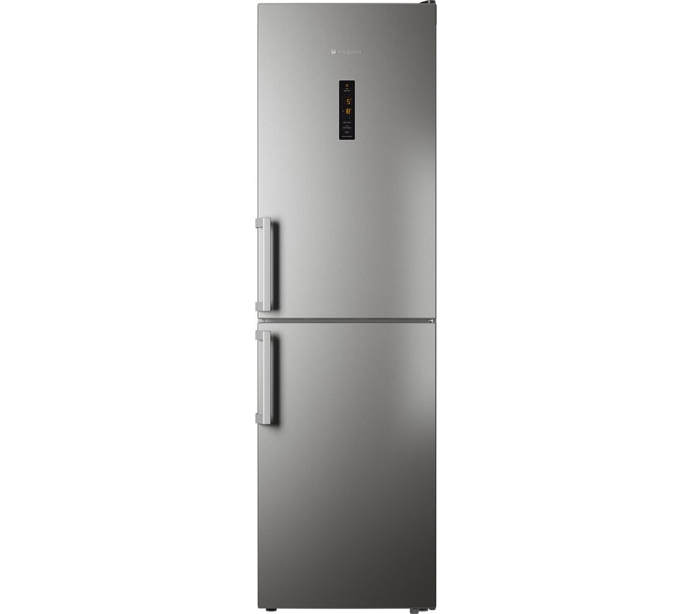 HOTPOINT  XUL95T1ZXOJH Fridge Freezer  Stainless Steel Stainless Steel