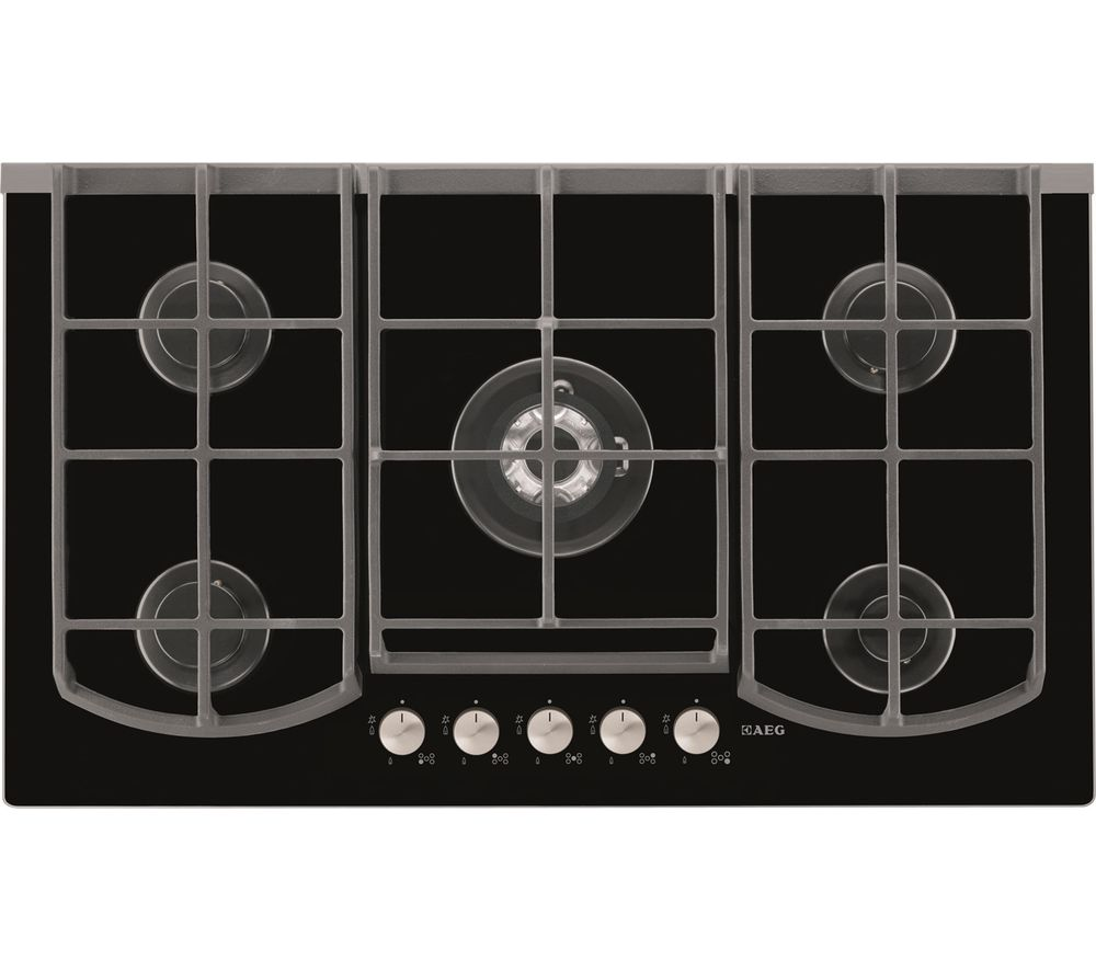 AEG  HG995440NB Gas Hob  Black Black