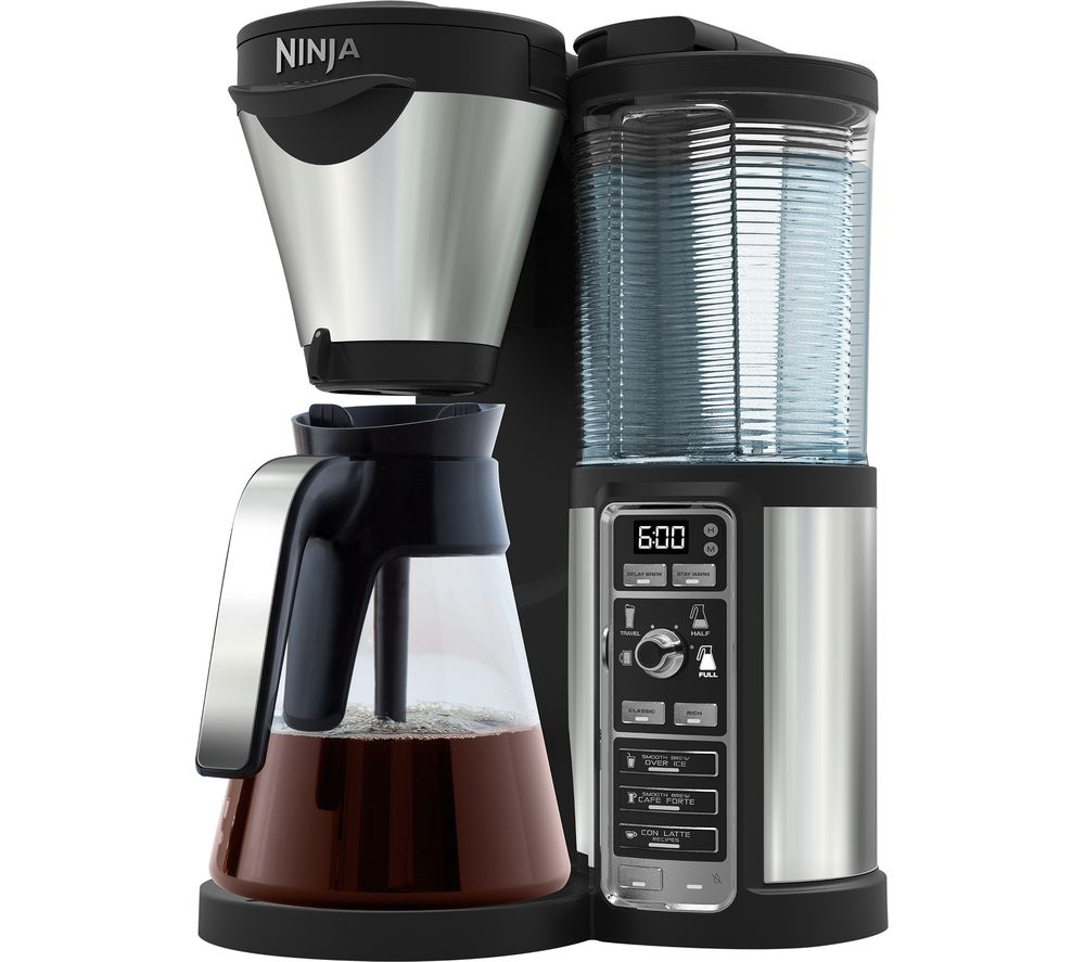 Ninja Coffee Maker Deals : Buy NINJA CF060UK Coffee Bar - Glass Edition Free Delivery Currys