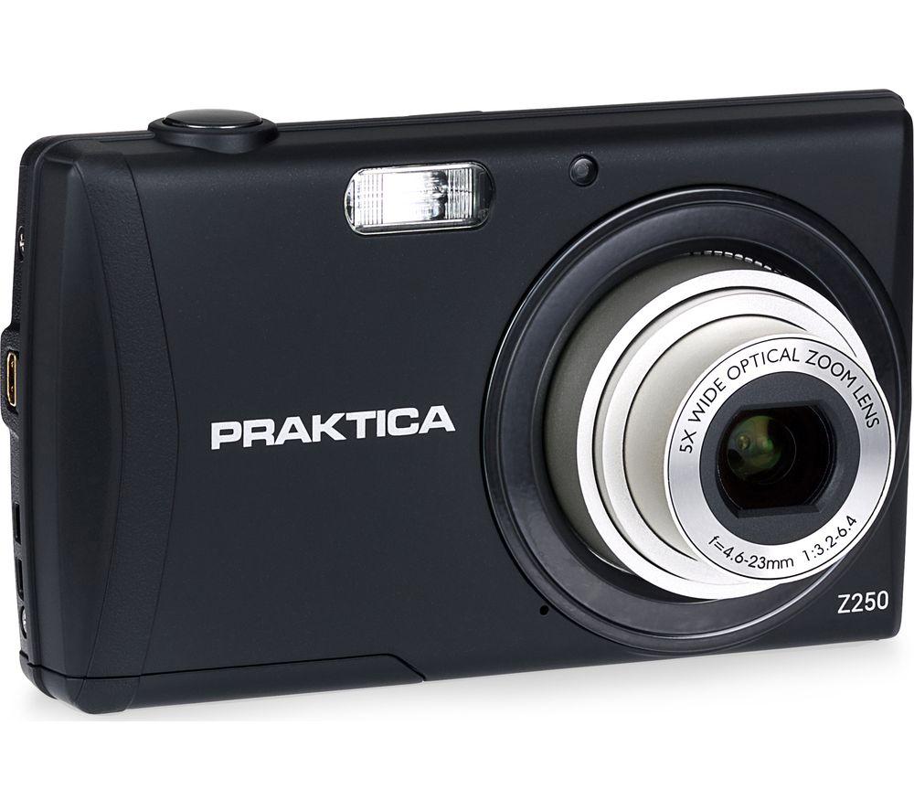 PRAKTICA  Luxmedia Z250-BK Compact Camera - Black, Black.