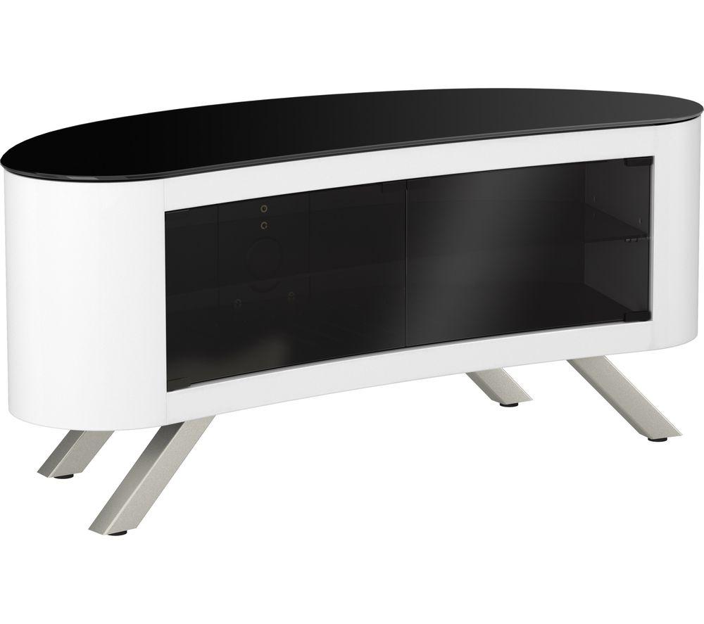 AVF  Bay 1150 TV Stand  White White
