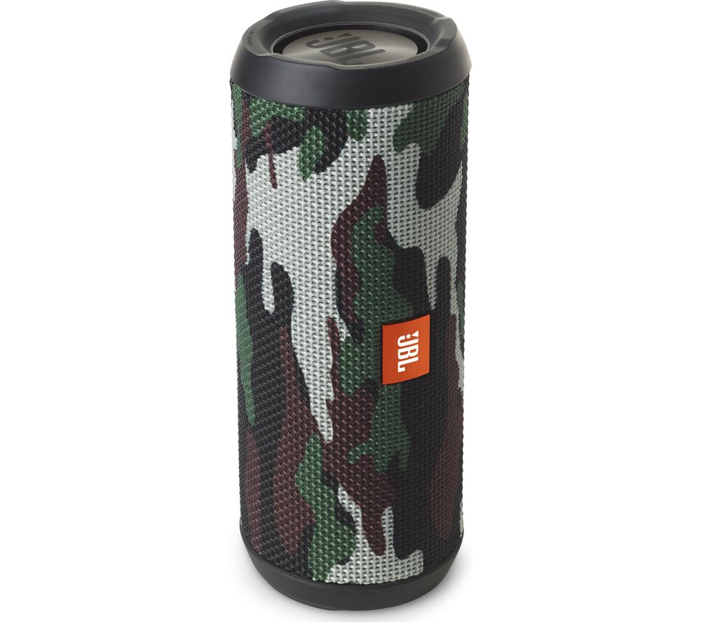 Click to view more of JBL  Flip 3 Squad Portable Wireless Speaker - Camouflage