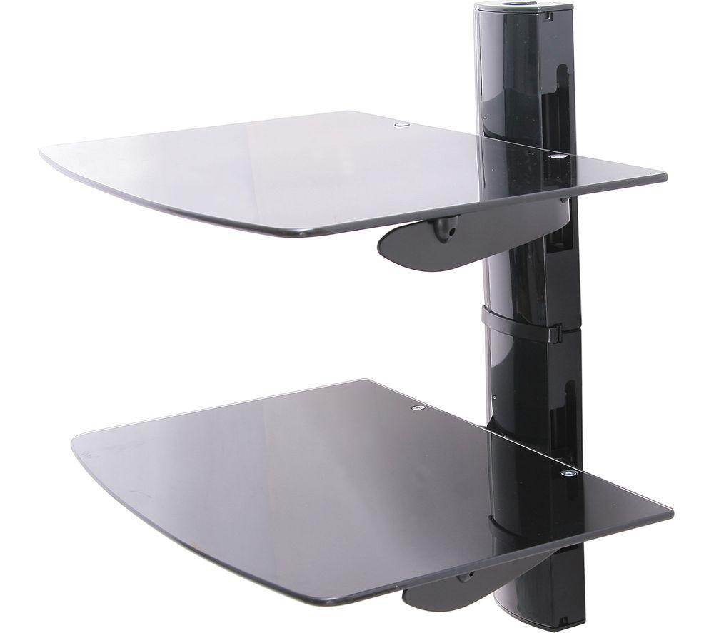 TTAP TTD-2 Twin Glass Wall Shelf
