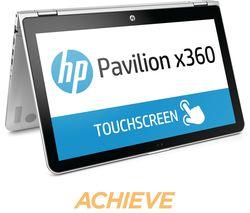 "HP Pavilion x360 15-bk150sa 15.6"" 2 in 1 - Silver"