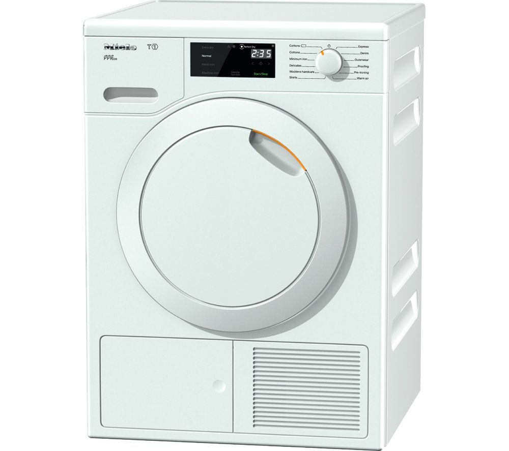MIELE Eco TCE620WP Heat Pump Tumble Dryer  White White