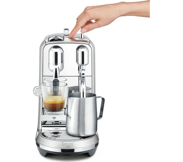 Coffee Maker At Currys : Buy NESPRESSO by Sage Creatista Plus BNE800BSS Coffee Machine - Stainless Steel Free Delivery ...