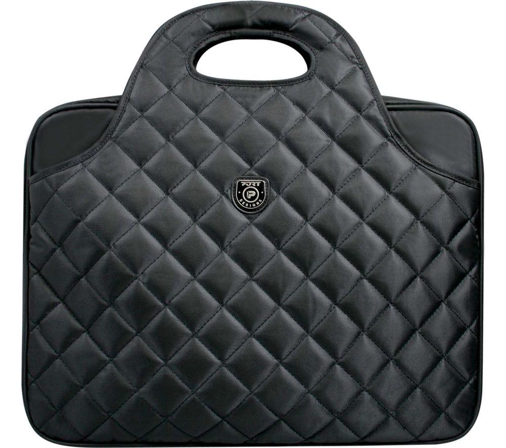 """PORT DESIGNS Firenze 15.6"""" Laptop Bag - Black"""