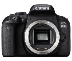 CANON EOS 800D DSLR Camera - Black, Body Only