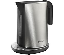 HOTPOINT WK 30E AX0 UK Jug Kettle - Silver