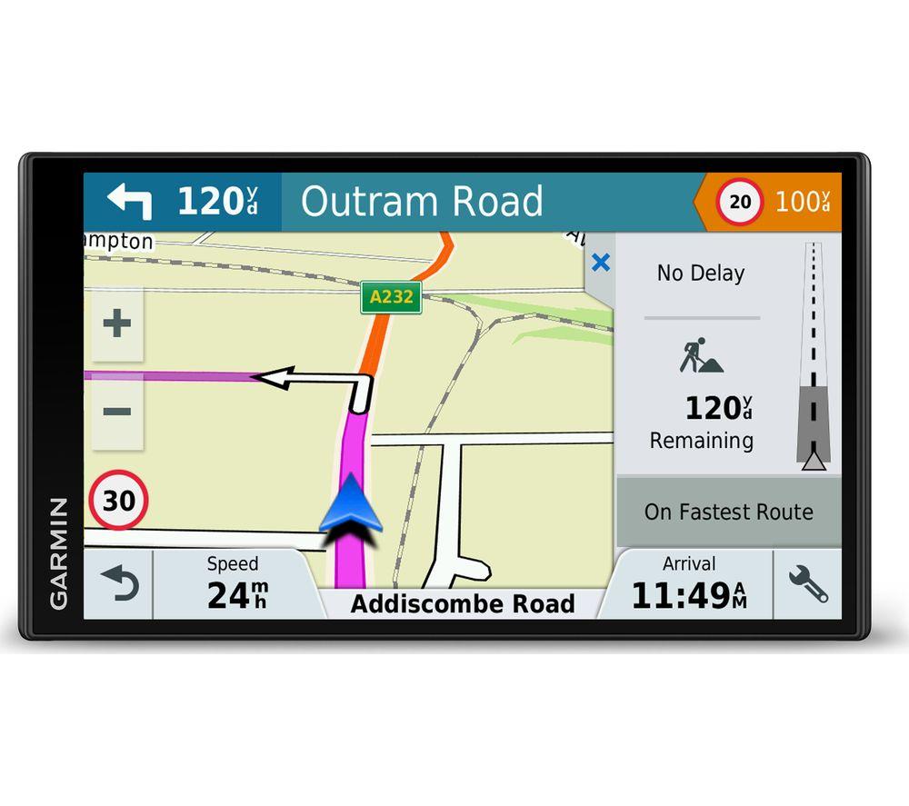 Buy GARMIN DriveSmart  LMTD  Sat Nav Full Europe Maps - Sat nav with usa and europe maps