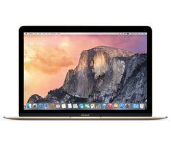 """APPLE MacBook 12"""" - Gold (2017)"""