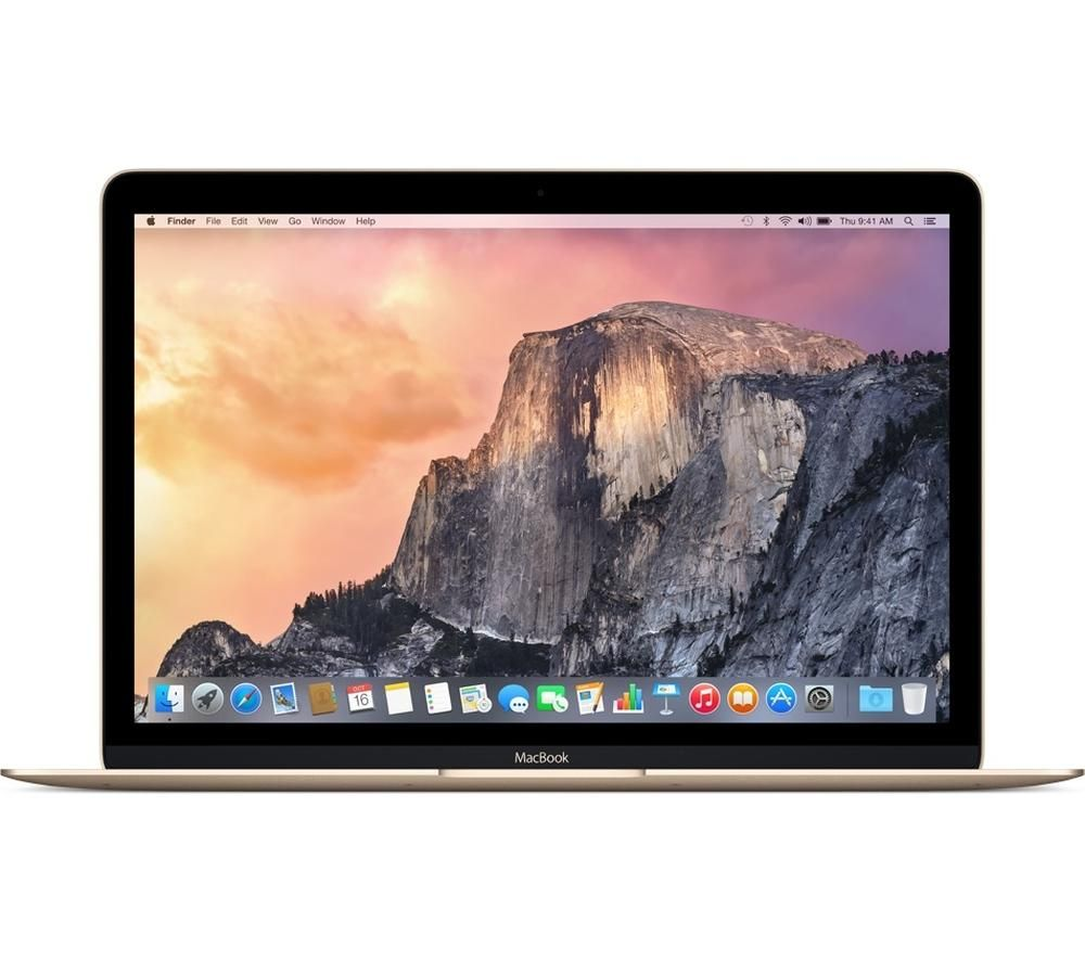 "APPLE MacBook 12"" - Gold (2017) + 60 W MagSafe 2 Power Adapter"