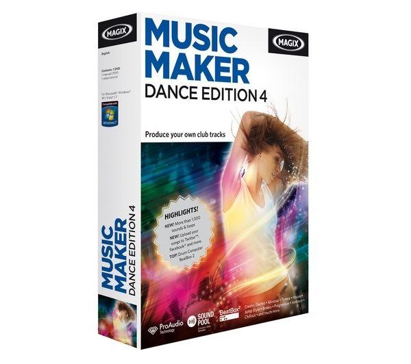 MAGIX Music Maker Techno Dance 4