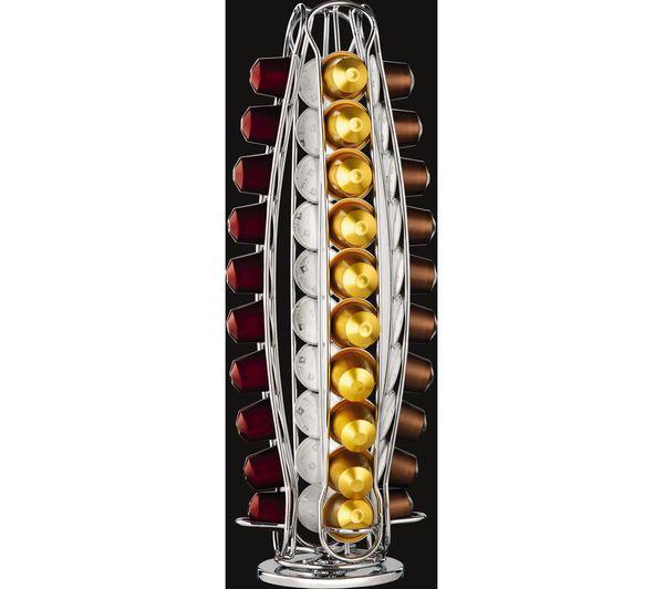buy nespresso nespresso capsule holder chrome free delivery currys. Black Bedroom Furniture Sets. Home Design Ideas